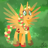 Princess Applejack by rivalcat