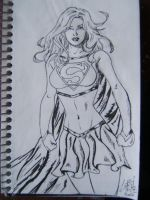 Supergirl Inked by dareith