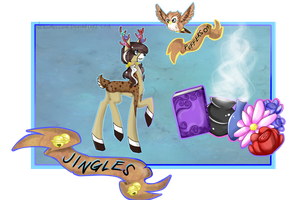 Character Card - Jingles by NekoMellow