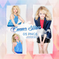 Pack png 300 - Emma Stone by worldofpngs