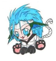 Bleach Chibi Grimmjow by Sprky2008