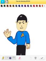 Draw Something: Spock by AskGriff