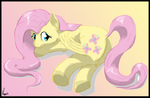 Fluttershy (COMMISSION) by DragmodNotloc