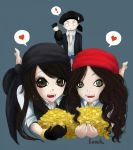 Me, Gabby and Pig~ by slowS2motion