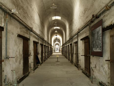 Eastern State Penitentiary 29 by Dracoart-Stock