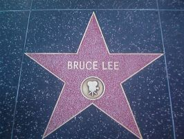 Bruce Lee's Star by hurley999