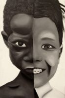 The Faces painting -half way- by paintedfingers