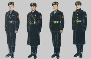 Soviet Army Uniforms 51 by Peterhoff3
