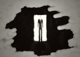 Slender Man by ZomzArtisticz