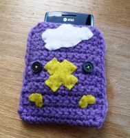 Drifloon Cell phone cozy by LiebeTacos