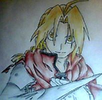 Edward Elric by Kithralia