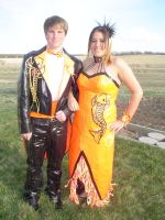 my duct taped prom by ShadeeGray15