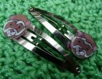 Clippies Ferret Snap Hair Clip by Eliea