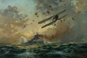 Attacking the Bismarck by 121199