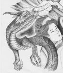 Jap tatt design dragon detail by SasukeRoxMySox2