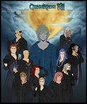 Organization XIII in 13 styles by Gerwell