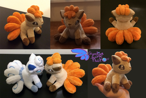 Pokemon Vulpix Plush 6'' by GuardianEarthPlush