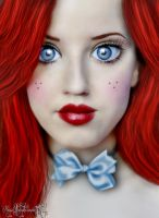 Red Head Doll by MagicOfTheTiger
