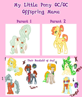 My Little Pony Oc Oc Offspring 5 Auctions by Sarahostervig