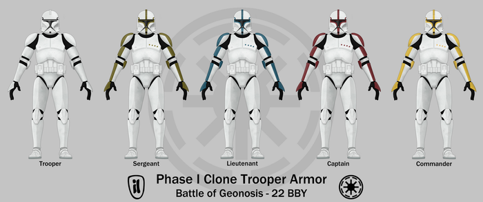 Phase I Clone Trooper Armor by Artifician