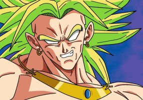 Broly_Closeup_FINISHED by carapau