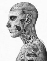 Rick Genest by 22Zitty22