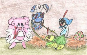 A newly hatched team-member by Master-Kankuro