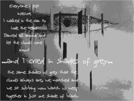 And I Cried In Shades Of Grey by littlemissnegativity
