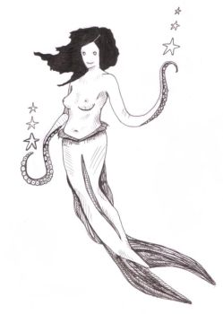 A Mermaid or so it would seem by quid-for-squid