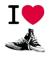 I love converse by Deathonthestairs