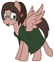 Shingeki no Pony: Hanji Zoe by Shingeki-No-Pony