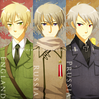 hetalia bookmark compilation by feredir
