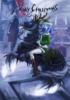 WOW - Death Knight Xmas! by JoFang-Art