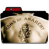 Sons Of Anarchy Icon Folder by euterpemusa