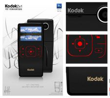 KODAK Zx1 Video camara by paundpro