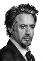 Robert Downey Jr. by desarmonia