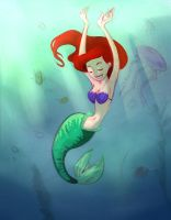 Under the sea by Lucia-Conchita