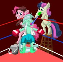 Boxing Lyra by Solomon-Pider
