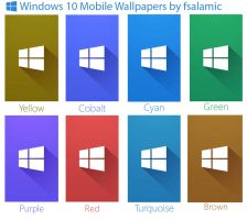 Windows 10 Wallpapers by fsalamic