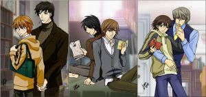 Junjou Couples by psycholark