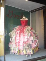 Paper Gown 2 by TrapDoor-Stock