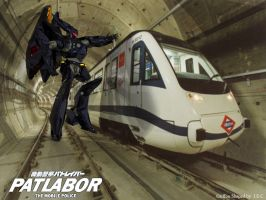 patlabor wallpaper 3d by asgard-knight