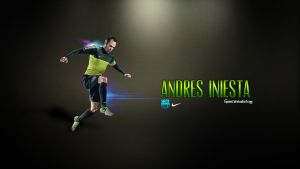 Andres Iniesta Wallpaper by ByWarf