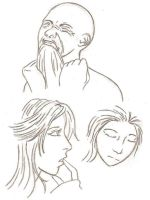 Just some practice faces by sammydilapidated