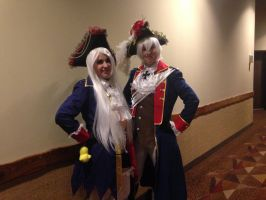 Prussia and Fem!Prussia by LukaMegurine78