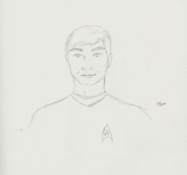 Sulu - George Takei by calink12
