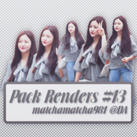 25.05.15 [PACK RENDERS] #13 by matchamatcha981