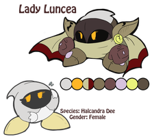 :Kirby: Lady Luncea by Veonara