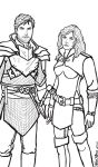 Jacen and Jadra by OurMysticalNonsense