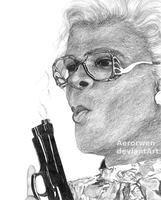 Madea (Tyler Perry) by Aerorwen